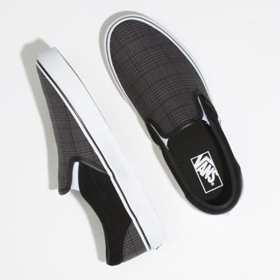 Vans Men Shoes Suiting Slip-On Black/True White
