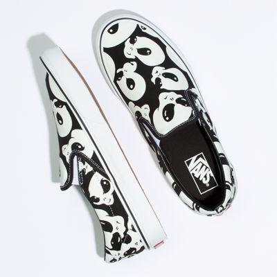 Vans Women Shoes Alien Ghosts Slip-On Black/True White