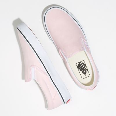 Vans Men Shoes Slip-On Blushing/True White