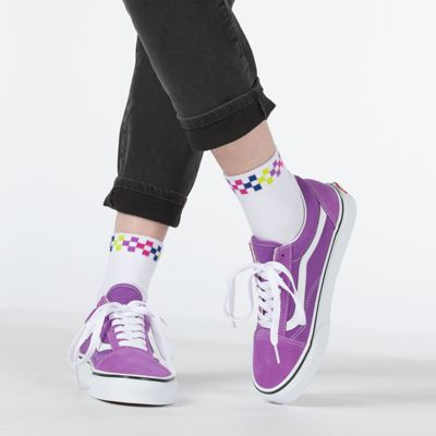 Vans Women Shoes Old Skool Dewberry/True White