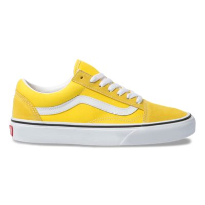 Vans Women Shoes Old Skool Vibrant Yellow/True White
