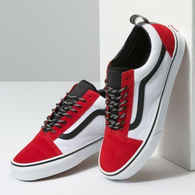 Vans Women Shoes OTW Webbing Old Skool Red/Black/True White