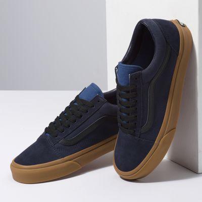 Vans Women Shoes Gum Old Skool Night Sky/True Navy
