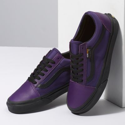 Vans Women Shoes Cordura Old Skool Violet Indigo/Black