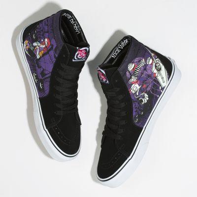 Vans Women Shoes Disney X Vans Sk8-Hi THE NIGHTMARE BEFORE CHRISTMAS/Jack's Lament