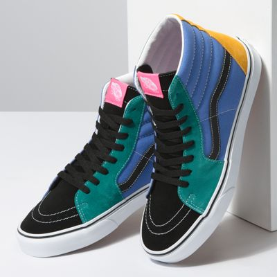 Vans Men Shoes Mix & Match Sk8-Hi Cadmium Yellow/Tidepool