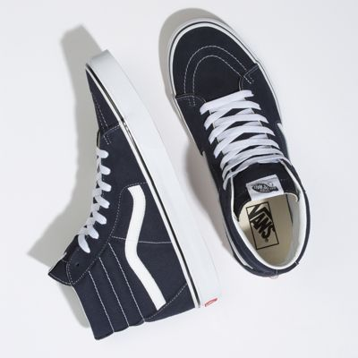 Vans Men Shoes Sk8-Hi Night Sky/True White