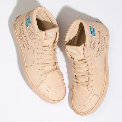 Vans Women Shoes Vivienne Westwood X Vans Sk8-Hi Letter/Veggie Tan