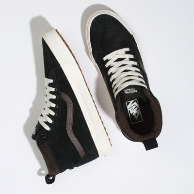 Vans Men Shoes Sk8-Hi MTE Black/Chocolate Torte