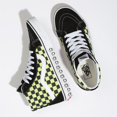 Vans Men Shoes Vans BMX Sk8-Hi Reissue Black/Sharp Green