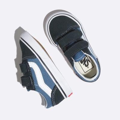 Vans Kids Shoes Toddler Old Skool V Navy