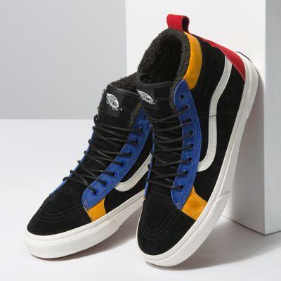 Vans Men Shoes Sk8-Hi 46 MTE DX Black/Surf The Web