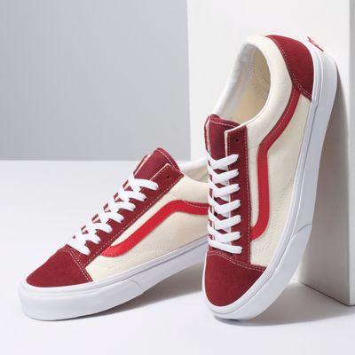Vans Men Shoes Retro Sport Style 36 Biking Red/Poinsettia