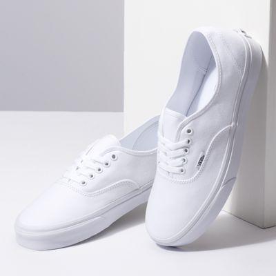 Vans Men Shoes Authentic True White