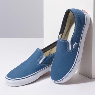 Vans Men Shoes Slip-On Navy