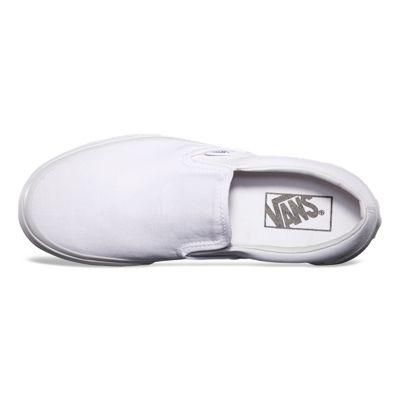 Vans Men Shoes Slip-On True White