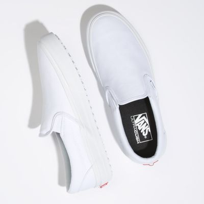 Vans Women Shoes Made For The Makers Slip-On UC True White