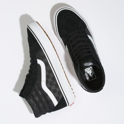 Vans Men Shoes Made For The Makers Sk8-Hi Reissue UC Black/Checkerboard