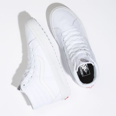 Vans Men Shoes Made For The Makers Sk8-Hi Reissue UC True White