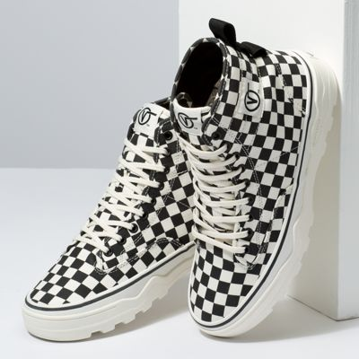 Vans Men Shoes Canvas Sentry WC Checkerboard/Marshamllow