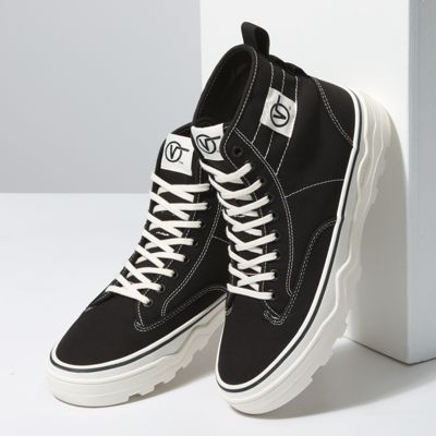 Vans Women Shoes Canvas Sentry WC Black/Marshmallow