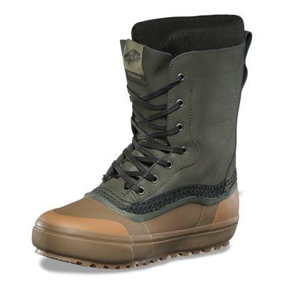 Vans Men Shoes Standard MTE Snow Boot Green/Brown