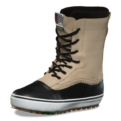 Vans Men Shoes Jake Kuzyk Standard MTE Snow Boot Black/Khaki