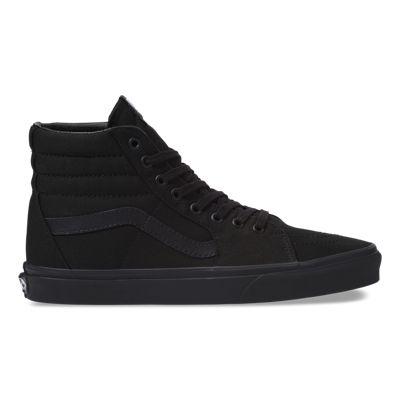 Vans Women Shoes Canvas Sk8-Hi black/black/black