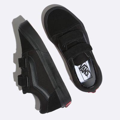 Vans Kids Shoes Kids Old Skool V Blk/Blk