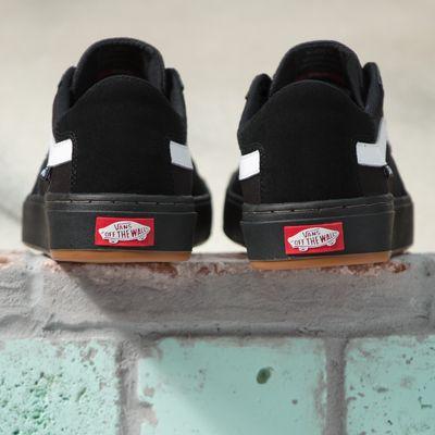 Vans Women Shoes Berle Pro Black/Black/White