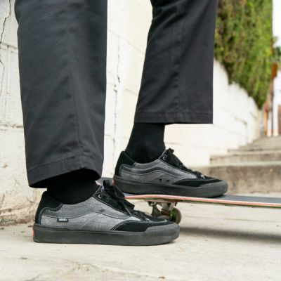 Vans Women Shoes Croc Berle Pro Black/Pewter