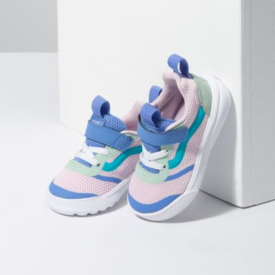 Vans Kids Shoes Toddler Color Block UltraRange Rapidweld Lilac Snow/Ultramarine