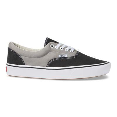 Vans Men Shoes ComfyCush Suede & Canvas Era Asphalt/Drizzle