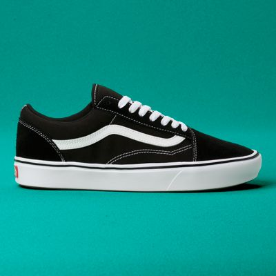 Vans Women Shoes ComfyCush Old Skool Black/True White