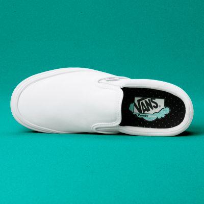 Vans Women Shoes ComfyCush Slip-On True White/True White