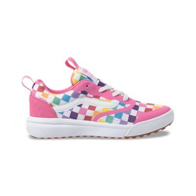 Vans Kids Shoes Kids Checkerboard UltraRange Rapidweld Rainbow/True White