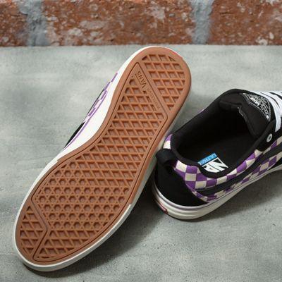 Vans Men Shoes Checkerboard Kyle Walker Pro Black/Dewberry