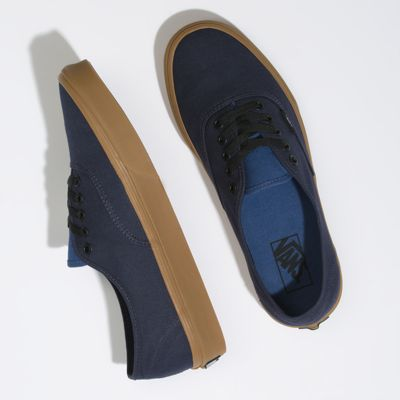 Vans Women Shoes Gum Authentic Night Sky/True Navy